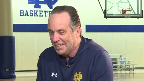Hashtag with Head Coach Mike Brey